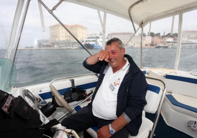 Hrabri Porečan velikog srca Marijan Babić na moru je u srijedu uvečer spasio češkog turistu