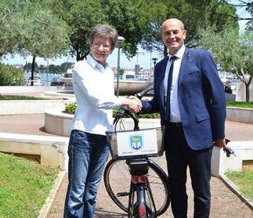 električni bicikl za djelatnike Grada Umaga