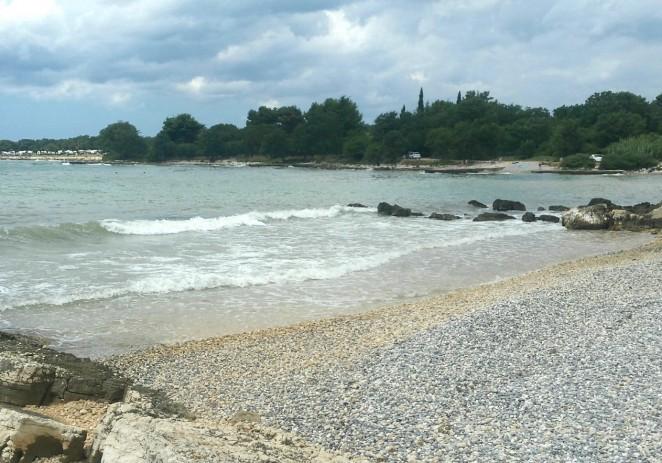 Uređena plaža u uvali Sveti Martin