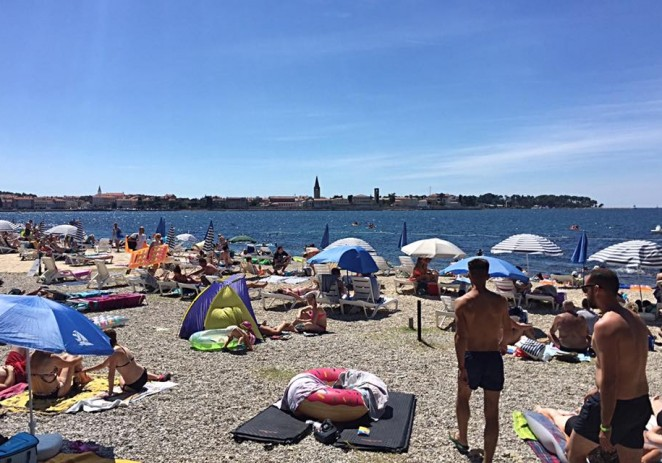 Kakvoća mora je izvanredna na plažama za kupanje na Poreštini