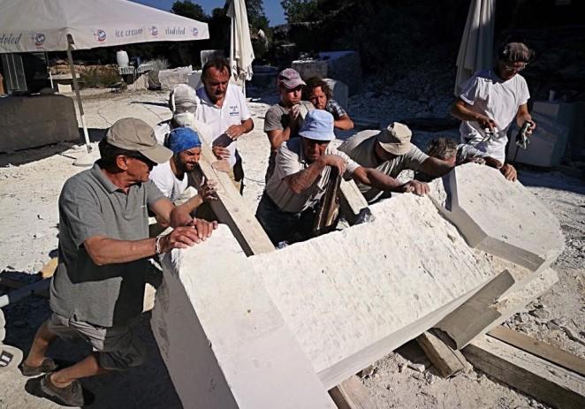 Zatvaranje 26. međunarodne studentske kiparske škole Montraker