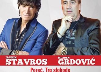 Doček Nove godine u Poreču uz Mladena Grdovića i Jasmina Stavrosa