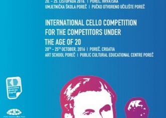11. međunarodno violončelističko natjecanje «Antonio Janigro» od 20. do 25. listopada u Poreču