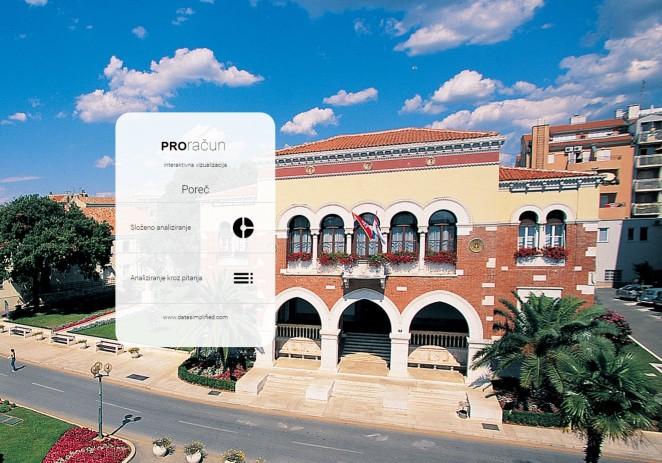 Grad Poreč-Parenzo predstavlja aplikaciju PROračun