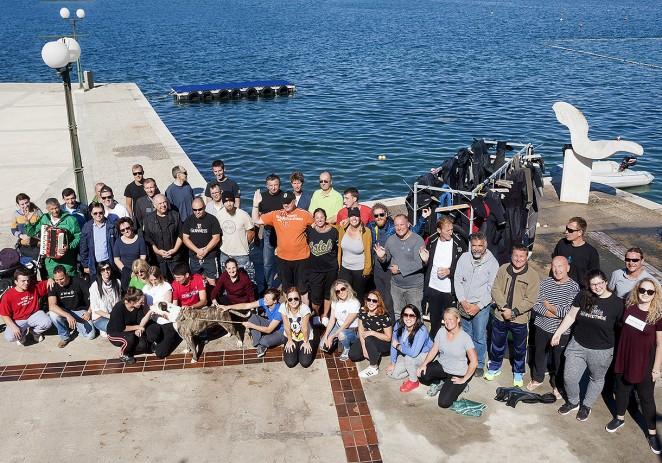 U okviru Valamarovog programa društveno odgovornog poslovanja čišćeno podmorje kampa Orsera i izvučeno više od pola tone otpada