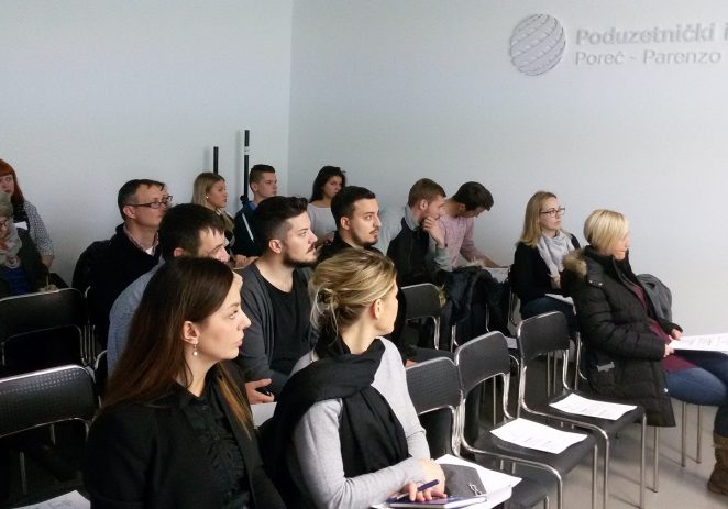 Održana prva edukacija u Poduzetničkom inkubatoru Poreč