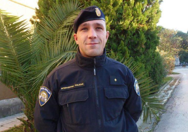 Hrabri policajac spasio život djevojčici