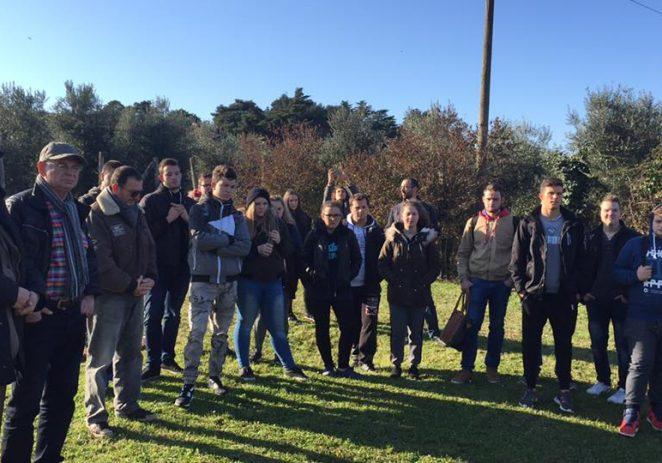 Porečka srednja škola Mate Balote dobila pet košnica i rojeva pčela