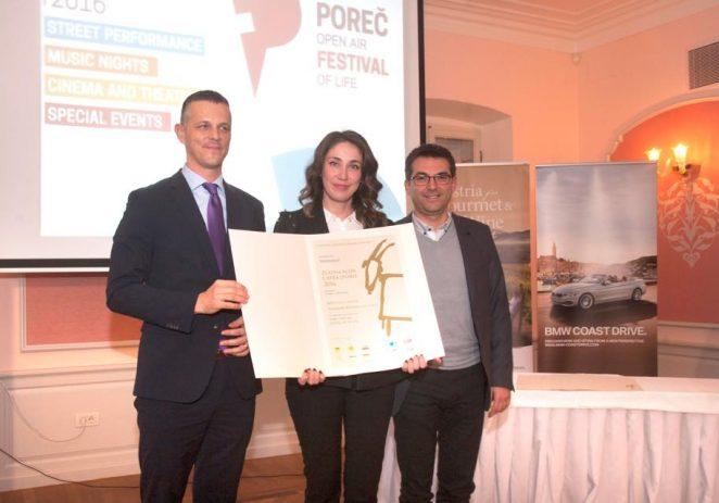 Valamar Riviera osvojila dvije nagrade Zlatna koza – Capra d'oro za 2016. godinu
