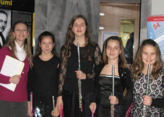 Učenici Umjetničke škole Poreč nastupili na natjecanju u Zagrebu