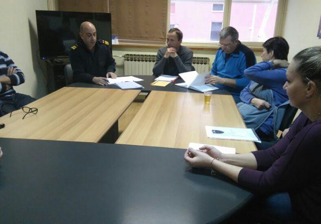 Proteklog je tjedna, u srijedu 14.prosinca, održan redovni skup radnika u JVP-CZP Poreč