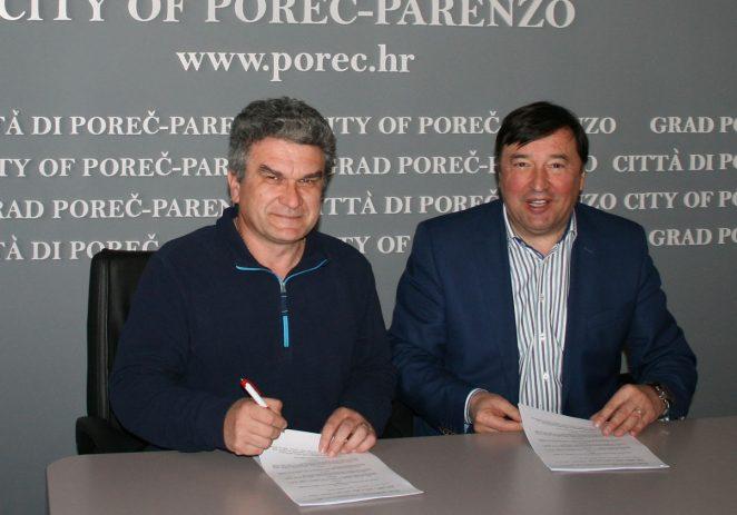 Grad Poreč-Parenzo i HRS potpisali ugovor o suorganizaciji Europskog prvenstva u rukometu 2018.