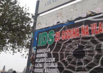 Novi HDZ-ovi plakati protiv IDS-a