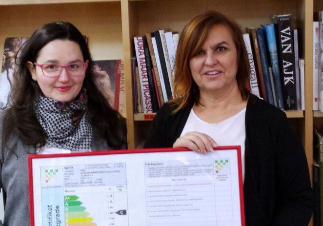 Gradska knjižnica Poreč dobila energetski certifikat