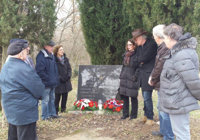 Položeni vijenci u spomen na pogibiju Bruna Valentija