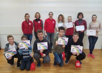 U Crvenom križu Poreč organizirano Natjecanje mladih Crvenog križa