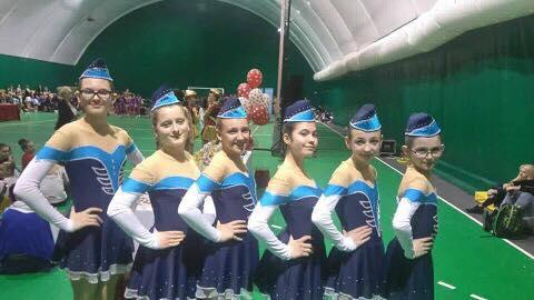 """Višnjanske mažoretkinje na festivalu """"Golden Heart"""" u Petrinji"""