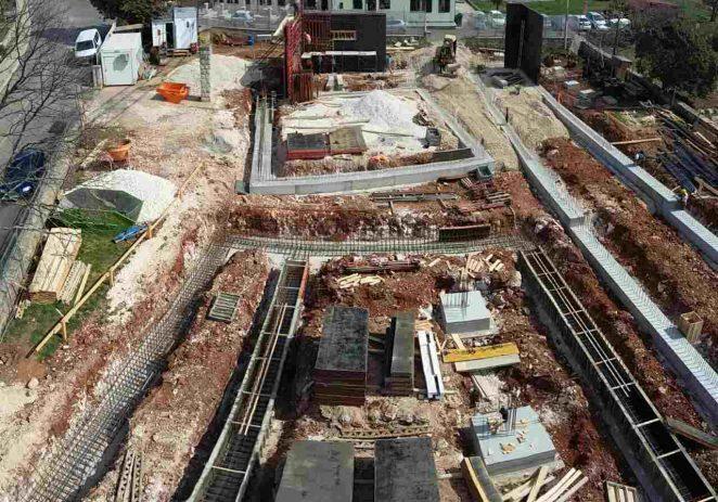 Gradnja nove škole u Žbandaju napreduje po planu