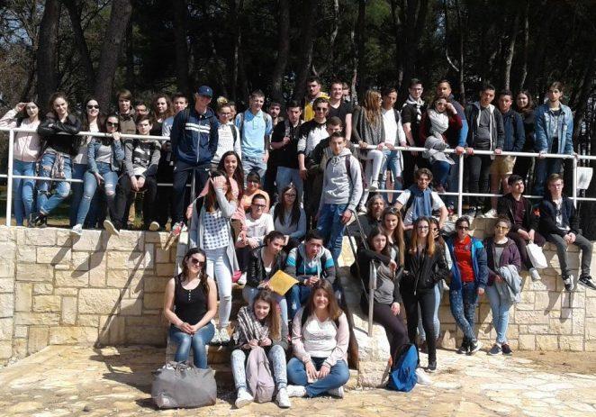 Posjet francuske strukovne srednje škole Lycée Jean Guéhenno Turističko-ugostiteljskoj školi Antona Štifanića Poreč