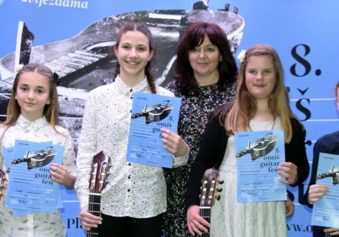 Izvanredan nastup učenika Umjetničke škole Poreč na 8. Omiš guitar festu
