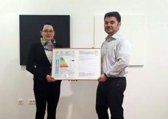 Projekt energetskog certificiranja objekata javne namjene u sklopu starogradske jezgre ide dalje – Galerija Zuccato novi vlasnik energetskog certifikata