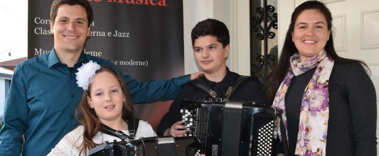 Paolo, Vita, Lorenzo i Anamarija