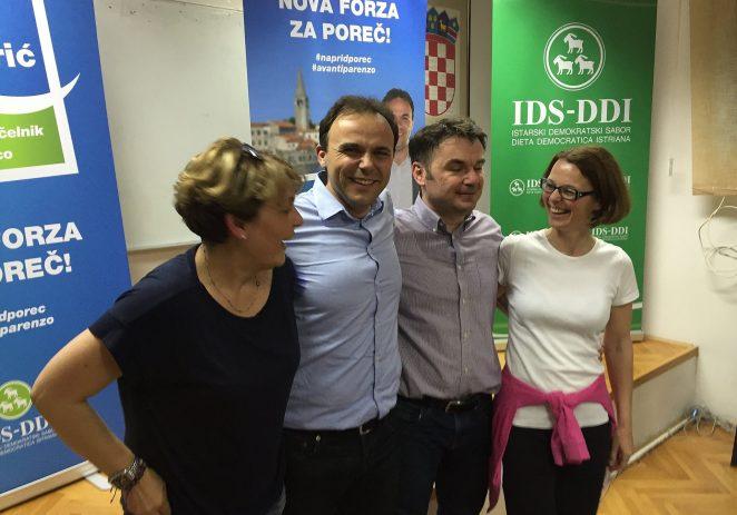 Loris Peršurić novi gradonačelnik Poreča, IDSu većina u Gradskom vijeću