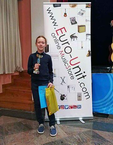 Učenici Umjetničke škole Poreč Marin Štefanac, Nina Poropat i Mija Mijatović ostvarili su izvanredan uspjeh na  Pula guitar festu