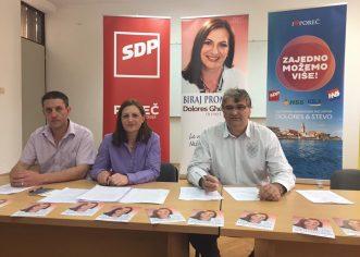 """Porečka koalicija """"ZAJEDNO MOŽEMO VIŠE"""" održala predstavljanje kandidatknje za gradonačelnicu Grada Poreča-Parenzo"""