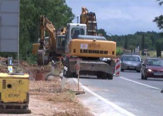 Dovšetak kanalizacijskog kolektora Baderna – Žbandaj očekuje se sredinom srpnja