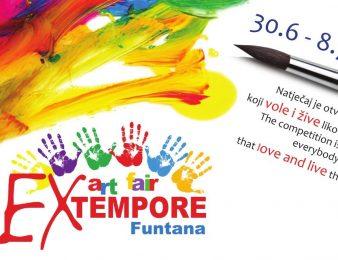 Pozivamo Vas na sudjelovanje u likovnom natječaju 7. EX TEMPORE Funtana 2017