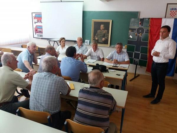Gradonačelnik na izbornoj skupštini Udruge antifašističkih boraca i antifašista Poreč