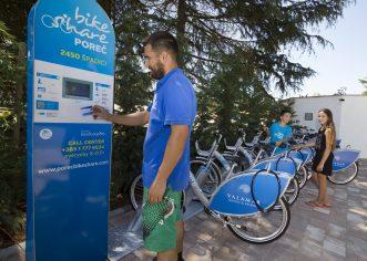 U prvih 7 dana Poreč Bike Share privukao više od 300 korisnika