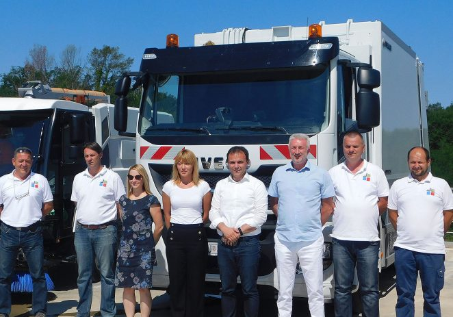 Usluga Poreč nabavila tri nova komunalna vozila