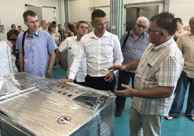 Otvoren novi pogon za preradu ribe u Kaštelir-Labincima