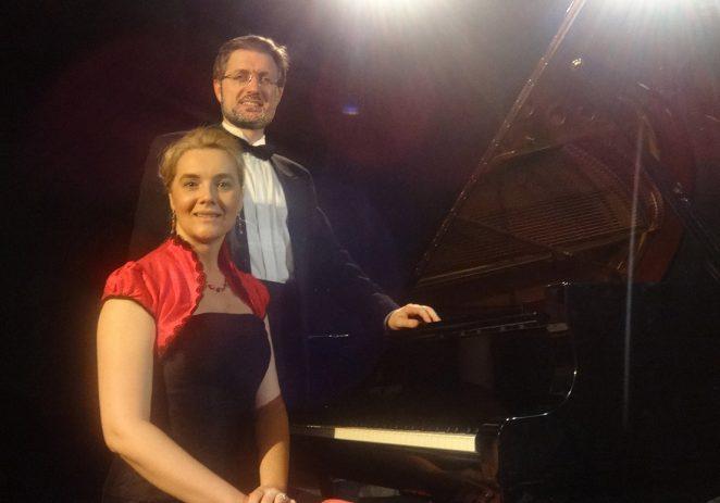 Tatiana Šverko i Leonardo Angelini u petak u Eufrazijani