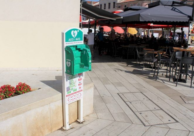 Ukraden defibrilator koji spašava živote