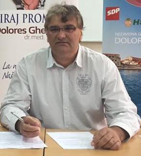 Vijećnik SDPa Poreč, Goran Gašparac je na jučerašnjoj sjednici Gradskog vijeća postavio dva pitanja