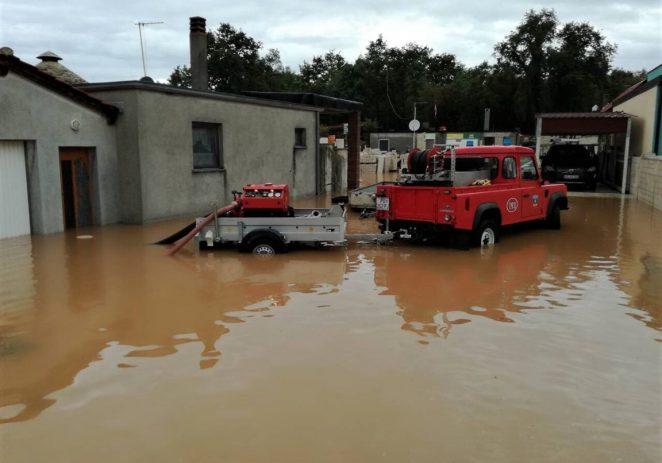 Poplavili stanovi i podrumi diljem Istre