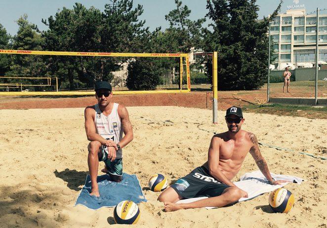 Clemens Doppler i Alexander Horst, sportske zvijezde iz Austrije uživaju na odmoru u Poreču