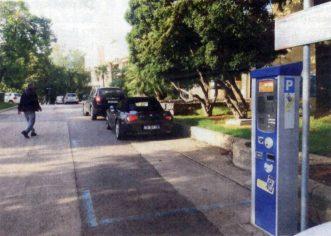 Svi parkomati  u Končarevoj ulici su u funkciji