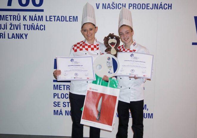 Slastičarke Sanja Grahek Buršić i Barbara Pol osvojile broncu na natjecanju u Pragu