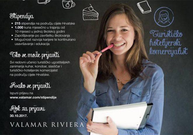 Postani stipendist Valamar Rivijere