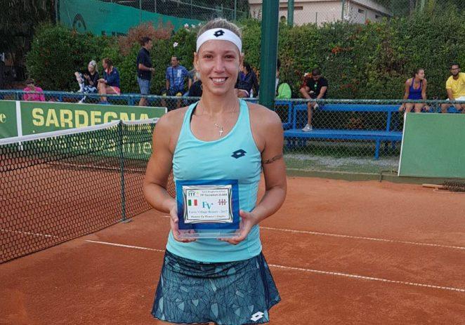 Tereza Mrdeža briljantna na dva turnira u Italiji, dvije završnice i naslov u parovima