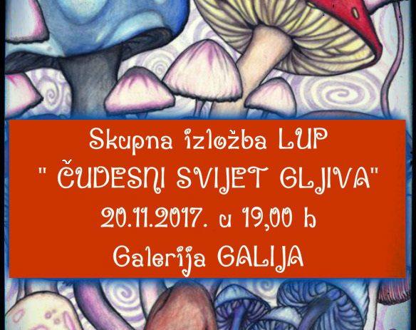 """Izložba""""Čudesni svijet gljiva"""" u Galiji"""