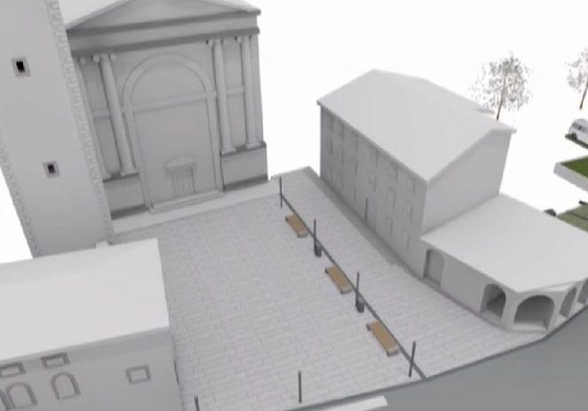 Uređenje općinskog trga jedan od važnijih projekata Općine Vižinada (video)