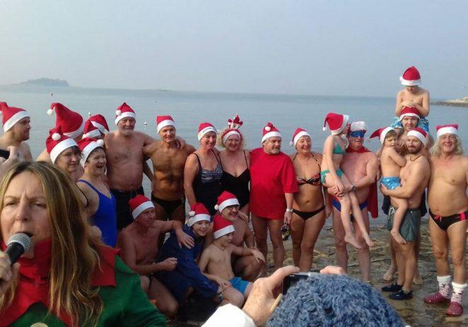 Božićno kupanje u Vrsaru