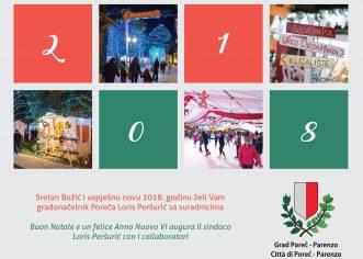 Blagdanska čestitka gradonačelnika Poreča Lorisa Peršurića