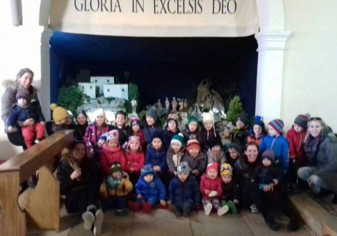 Božićne jaslice u Baderni