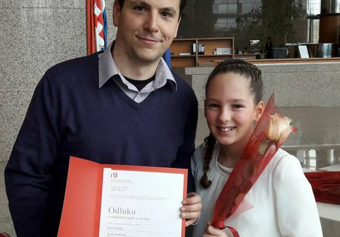 Učitelj Umjetničke škole Poreč prof. Paolo Peruško promoviran u savjetnika uz nastup njegove učenice Vite Blažević na Svečanoj promociji u Zagrebu